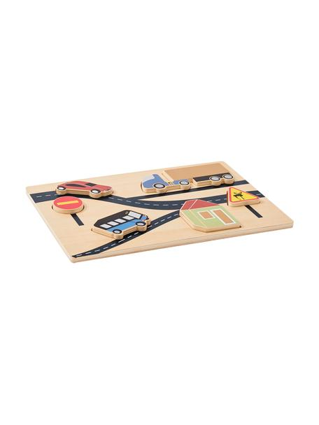 Holzpuzzle Aiden, Holz, Mehrfarbig, B 30 x T 20 cm