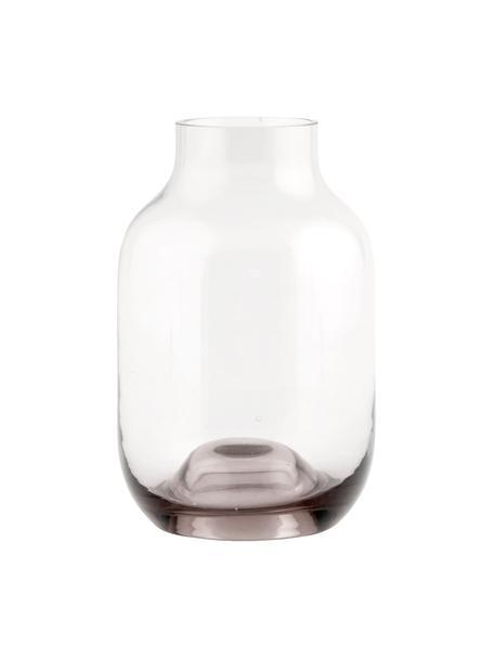 Mały wazon ze szkła Shabergie, Szkło, Blady różowy, Ø 9 x W 14 cm