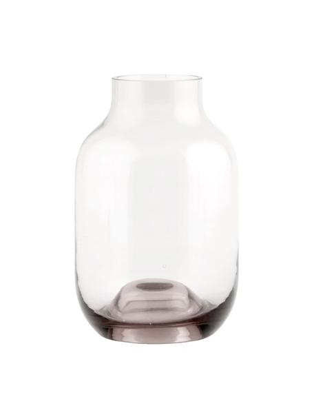 Kleine Glas-Vase Shabergie, Glas, Rosa, Ø 9 x H 14 cm