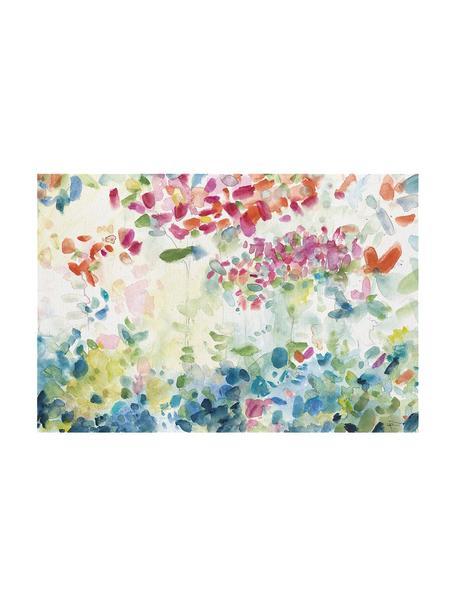 Impresión sobre lienzo Hortensias, Multicolor, An 60 x Al 40 cm