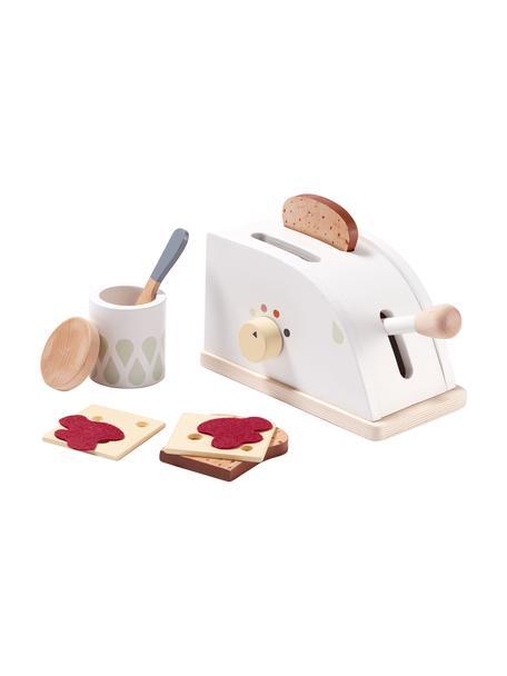 Spielzeug-Set Toaster, Holz, Mehrfarbig, 10 x 22 cm