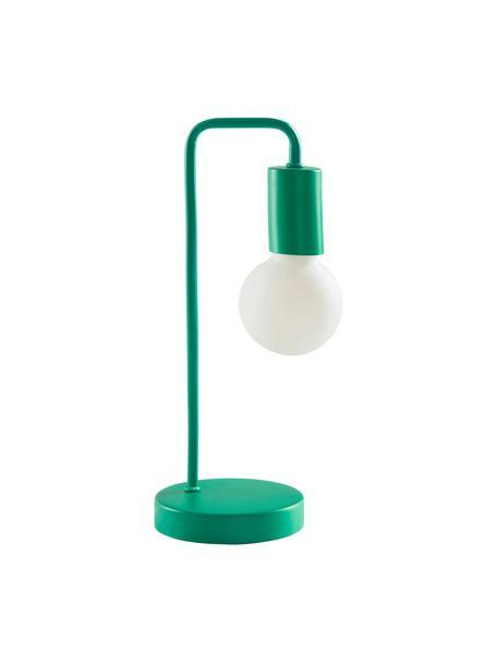 Lampada da tavolo Cascais, Paralume: metallo rivestito, Verde, Ø 14 cm