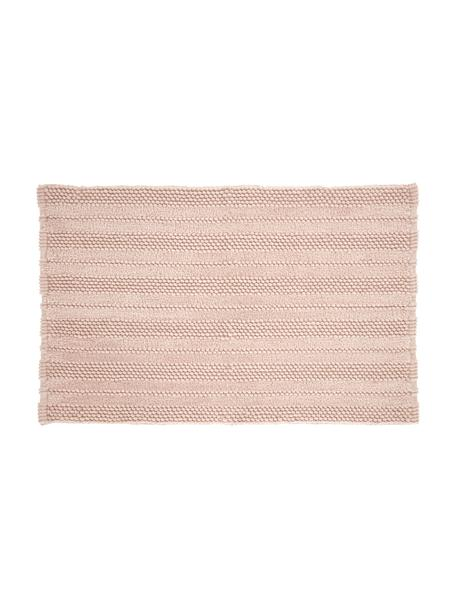 Badvorleger Nea, 65% Polyester, 35% Baumwolle, Rosa, 50 x 80 cm