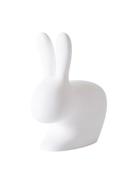 Lampada da tavolo a LED da esterno Rabbit, Materiale sintetico (polietilene), Bianco, Larg. 45 x Alt.53 cm