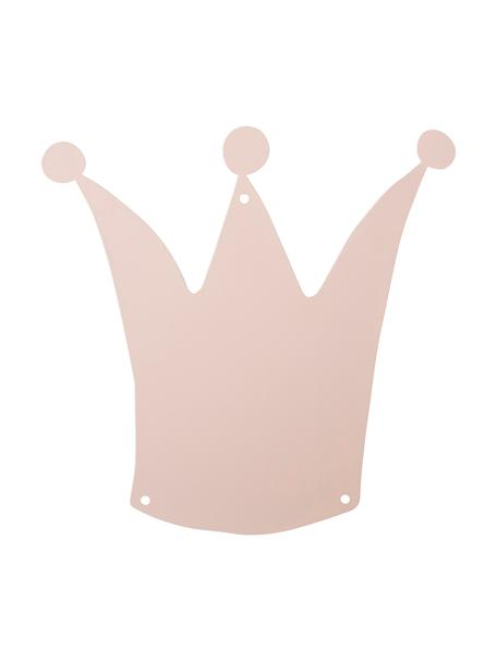 Magnetwand Crown, Metall, lackiert, Rosa, 33 x 33 cm