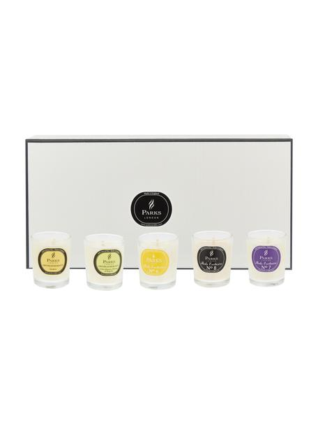 Set de velas perfumadas Exclusive, 10 pzas., Recipiente: cristal, Multicolor, Ø 5 x Al 6 cm