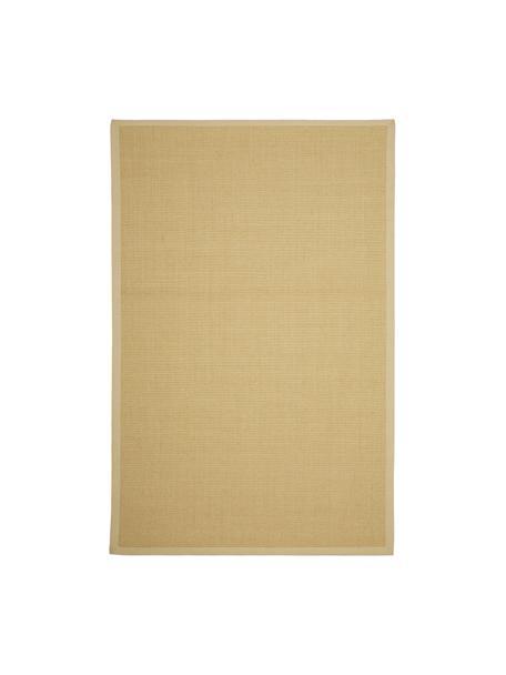 Tappeto in sisal fatto a mano Nala, Bordo: cotone, Beige, Larg. 120 x Lung. 180 cm (taglia S)