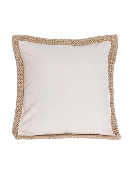 Cojín Desert, con relleno, Tapizado: algodón, Beige, An 40 x L 40 cm