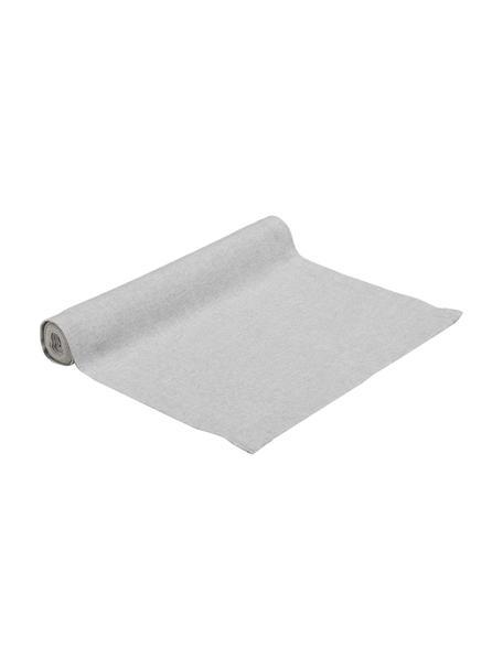 Tafelloper Riva van katoenmix in grijs, 55%katoen, 45%polyester, Grijs, 40 x 150 cm