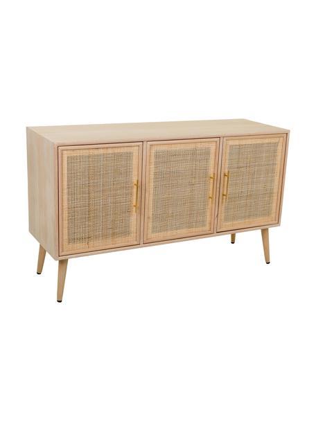 Aparador Cayetana, Estructura: madera, Beige, An 120 x Al 71 cm