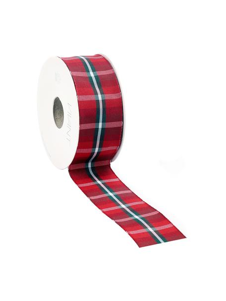 Wstążka prezentowa Scotch, 98% poliester, 2% drut niklowany, Czerwony, biały, zielony, S 4 x D 1500 cm