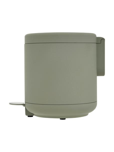 Kosz na śmieci Ume, Tworzywo sztuczne (ABS), Eukaliptusowy zielony, Ø 20 x W 22 cm