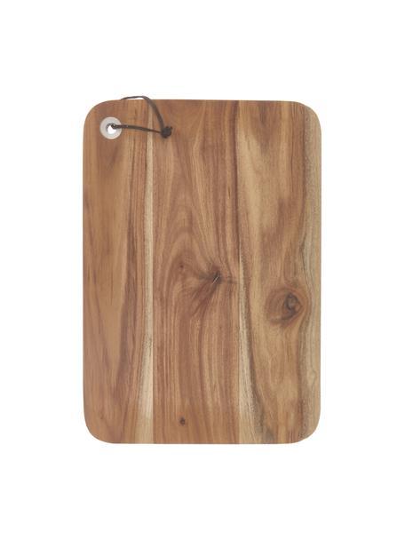 Tagliere in legno di acacia Acacia, Legno di acacia, Legno di acacia, Larg. 23 x Lung. 33 cm