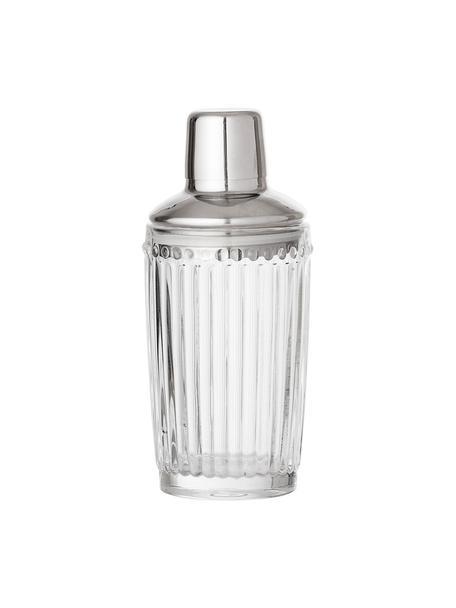 Shaker per cocktail Janni, Vetro, acciaio inossidabile, Trasparente, acciaio inossidabile, Ø 9 x Alt. 19 cm