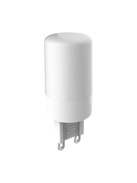 G9 peertje, 3,3 watt, neutraal wit, 1 stuk, Peertje: glas, Fitting: aluminium, Transparant, Ø 2 x H 6 cm
