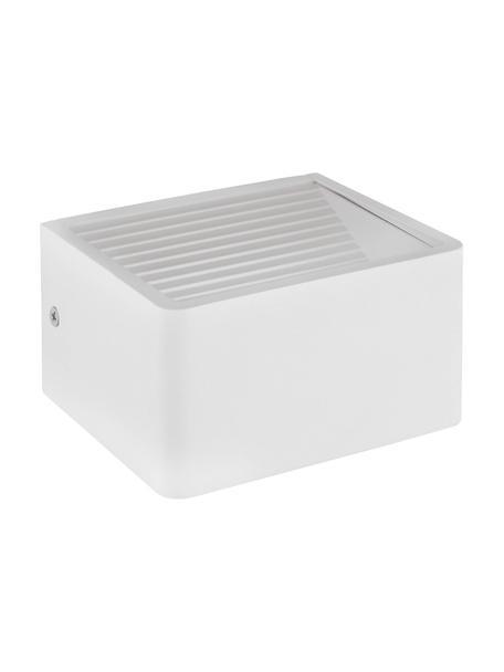 LED-Außenwandleuchte Doninni, Weiß, 14 x 8 cm