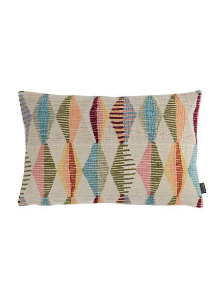 Poszewka na poduszkę Ipanema, Beżowy, wielobarwny, S 40 x D 60 cm