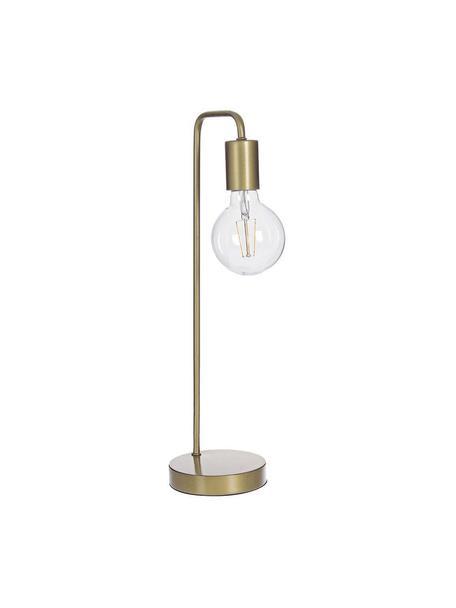 Lámpara de mesa Emotion, Hierro, Dorado, Ø 13 x Al 49 cm