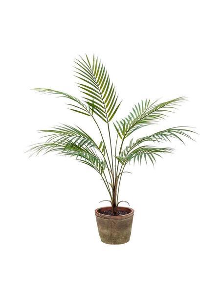 Planta artificial Palm Vintage, Poliéster, polietileno, Verde, Ø 35 x Al 70 cm