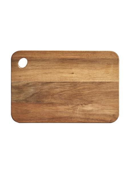 Tabla de cortar de madera de acacia Akana, diferentes tamaños, Tablero: madera de acacia, aceitad, Acacia, An 37 x F 25 cm