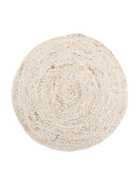 Podkładka Husk, 2 szt., Liść kukurydzy, Beżowy, Ø 38 cm