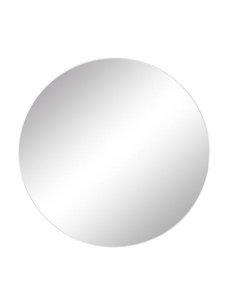 Ronde wandspiegel Erin zonder lijst, Spiegelvlak: spiegelglas. Buitenrand: zwart, Ø 40 cm