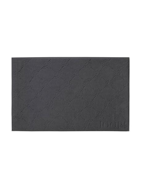 Alfombrilla de baño Cornflower, Gris antracita, An 50 x L 80 cm