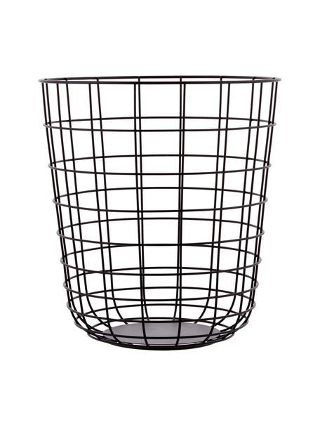 Papelera Wire Bin, Cesta: acero, Negro, Ø 32 x Al 35 cm