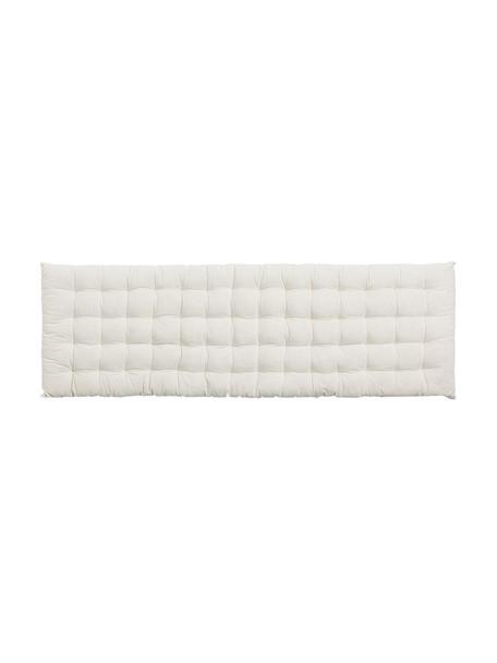 Nakładka na ławkę Gavema, Złamana biel, S 40 x D 120 cm