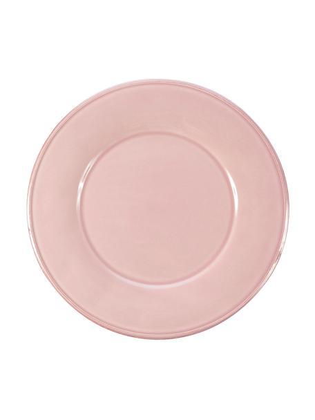 Piattino da dessert rosa Constance 2 pz, Terracotta, Rosa, Ø 24 cm
