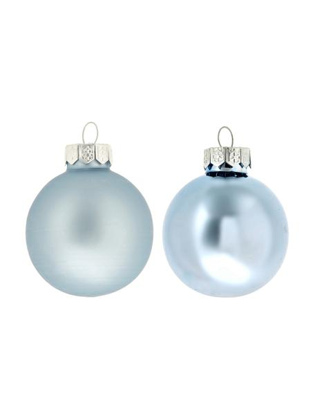 Mini-Weihnachtskugel-Set Evergreen Ø4cm,16-tlg., Eisblau, Ø 4 cm
