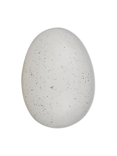 Deko-Objekt Sevinia, Kunststoff, Weiß, Ø 6 x H 7 cm