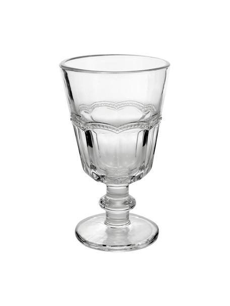 Copas de vino Floyd, 6uds., Vidrio, Transparente, Ø 9 x Al 14 cm