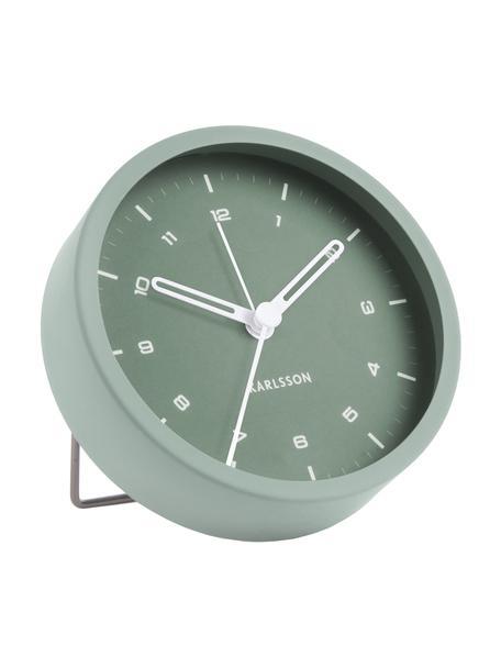 Wecker Tinge, Stahl, lackiert, Grün, Ø 9 x T 3 cm