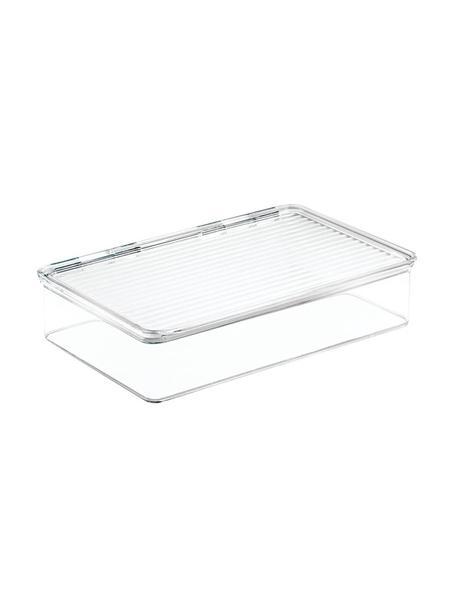 Caja de almacenamiento Bin, Acrílico, Transparente, An 21 x F 26 cm
