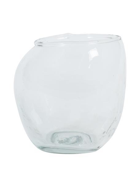 Waterglazen Unexpected van gerecycled glas, 4 stuks, Gerecycled glas, Transparant, Ø 10 x H 11 cm