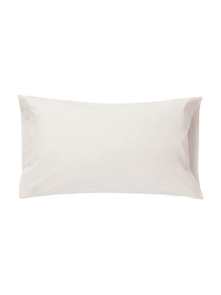 Funda de almohada Plain Dye, Algodón El algodón da una sensación agradable y suave en la piel, absorbe bien la humedad y es adecuado para personas alérgicas, Crema, An 50 x L 110 cm