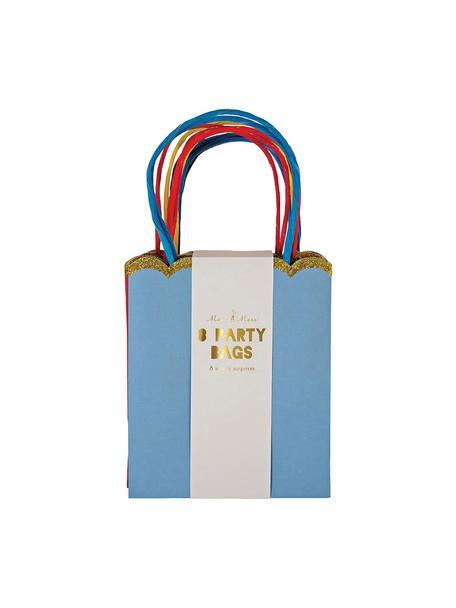 Geschenktüte Jess, 8-tlg., Papier, Karton, Mehrfarbig, 13 x 23 cm