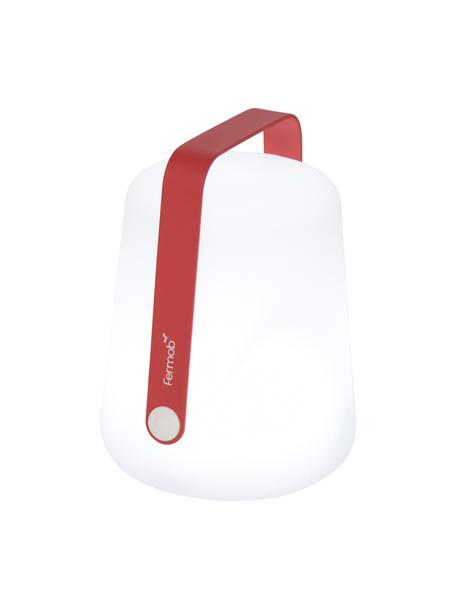 Mobile LED Außenleuchte Balad, Lampenschirm: Polyethen, für den Außenb, Griff: Aluminium, lackiert, Pink, Ø 19 x H 25 cm