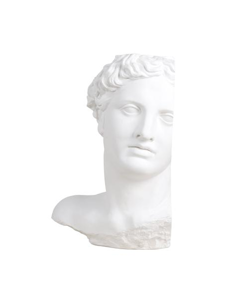 Decoratief object Apollo, Gips, Wit, 27 x 41 cm