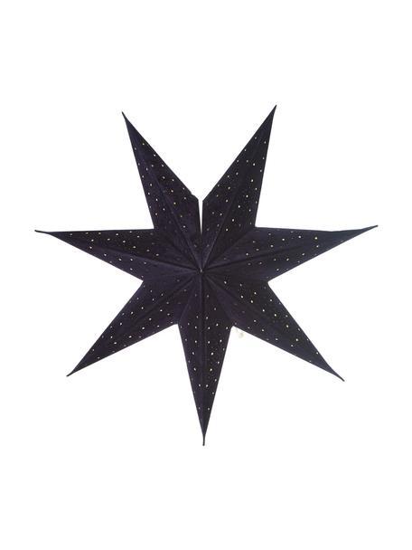 Gwiazda świąteczna Orby, Papier, Niebieski, Ø 45 cm