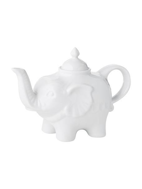 Teiera in porcellana Elephant, 900 ml, Ceramica, Bianco, 900 ml