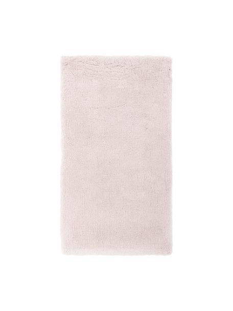 Tappeto peloso morbido rosa Leighton, Retro: 70% poliestere, 30% coton, Rosa, Larg. 80 x Lung. 150 cm (taglia XS)