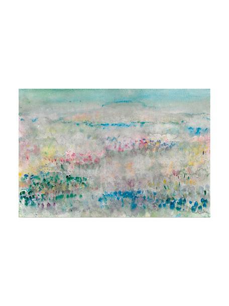 Impresión digital sobre lienzo Flores Silvestres, Multicolor, An 60 x Al 40 cm