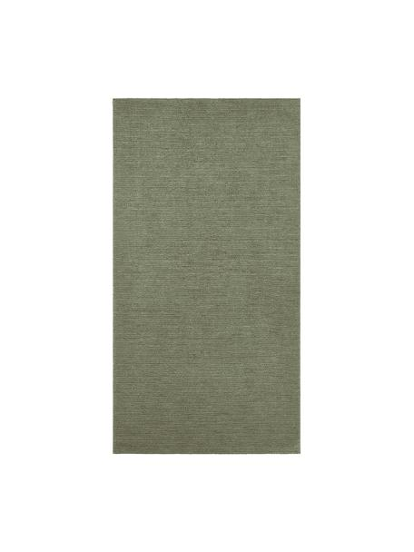 Dywan Supersoft, Zielony mchowy, S 80 x D 150 cm (Rozmiar XS)