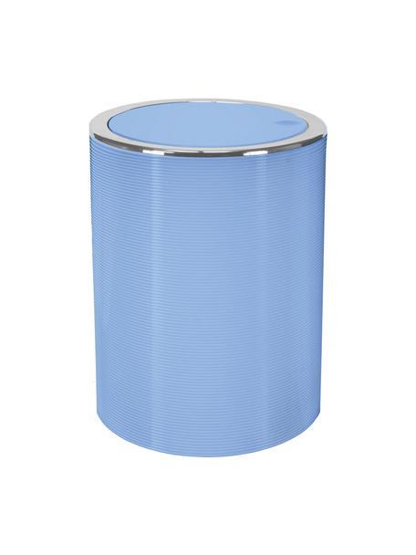 Abfalleimer Trace mit Schwingdeckel, Kunststoff, Blau, Ø 19 x H 25 cm