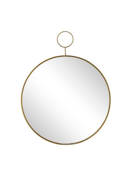 Espejo de pared redondo Loop, Espejo: cristal, Latón, Ø 32 cm