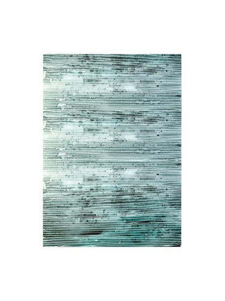 Rolka papieru prezentowego Green Lines, 3 szt., Papier, Zielony, biały, S 50 x W 70 cm