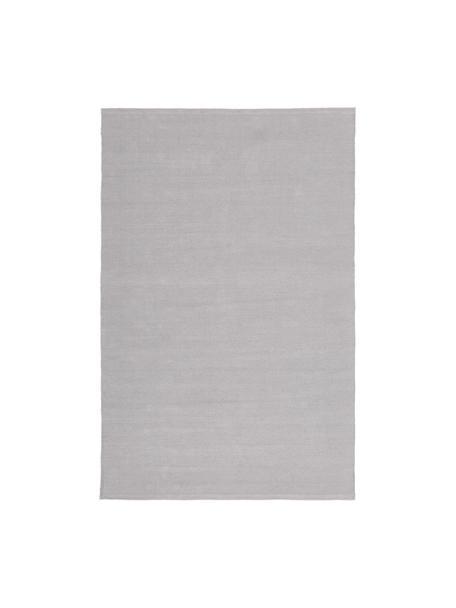 Tappeto in cotone tessuto a mano Agneta, 100% cotone, Grigio, Larg. 120 x Lung. 180 cm (taglia S)