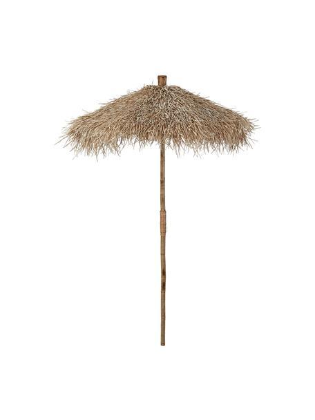 Ombrello decorativo  in bambù Mandisa, Legno di bambù, finitura naturale, Legno di bambù, Ø 150 x A 240 cm